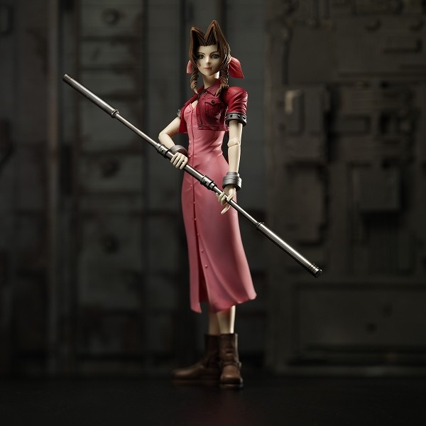 aerith gainsborough  ff07  playarts vol1 1