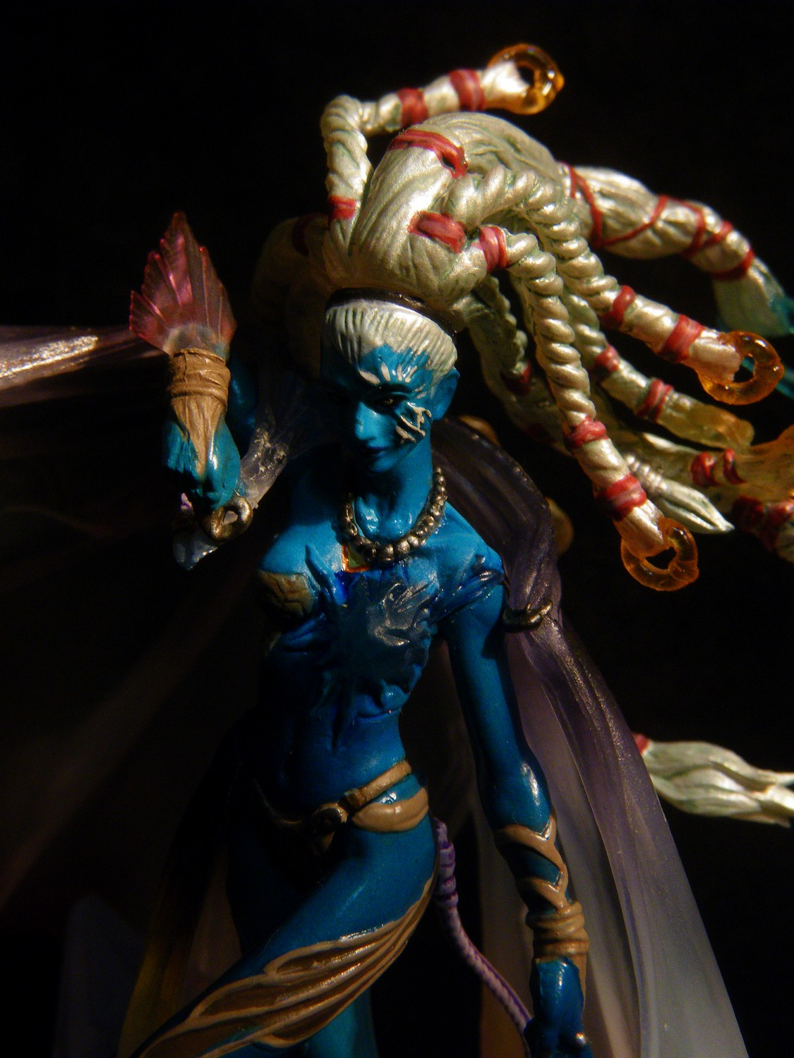heretic shiva  ff10  mastercreature vol3 5